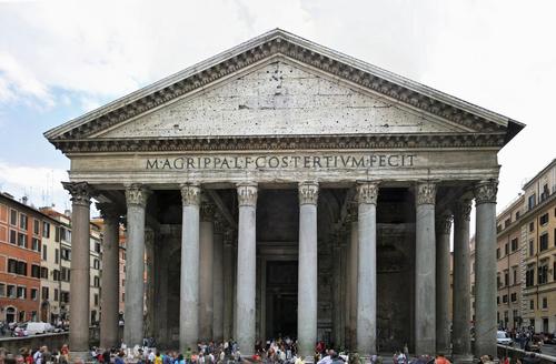 Pantheon versus parthenon